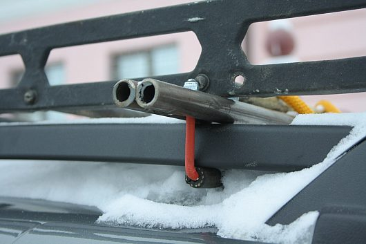 Как самому сделать крепление для багажника