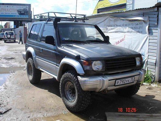 Любителей Mitsubishi Pajero 4 90