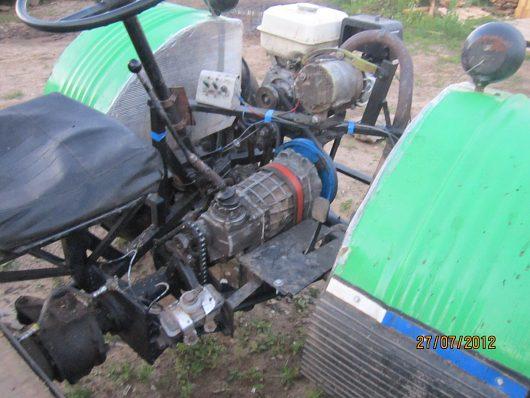 Самодельный минитрактор своими руками с двигателем лифан 54