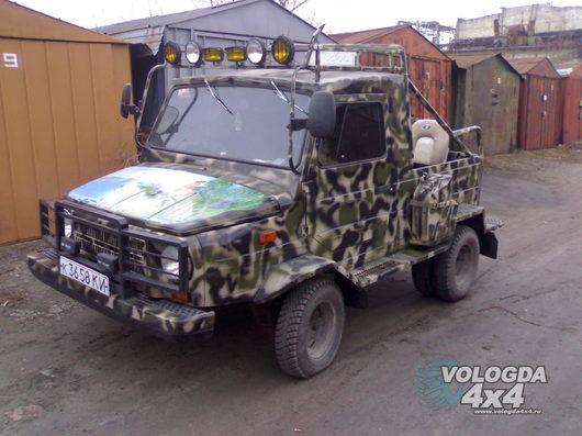 ЛуАЗ 967. переделки. тюнинг.